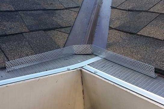 Pin By Melanie Harris On Gutters Downspouts Rain Gutter Guards Gutter Guard Rain Gutters