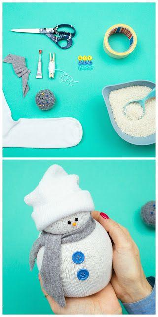 How To Make No-Sew Sock Snowman | Handy & Homemade