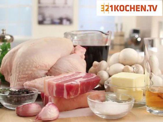 """Den """"Hahn in Wein"""" gibt es in unterschiedlichen Varianten: hier sehen Sie eine Variante mit Hähnchen!"""