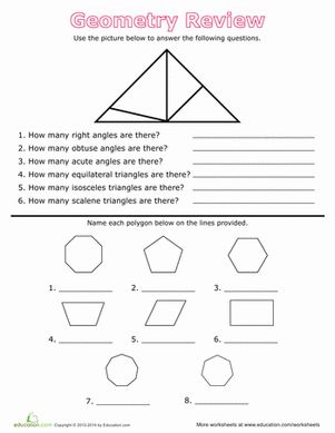 grade 5 geometry worksheets pdf