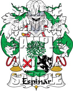Espinar Family Crest apparel, Espinar Coat of Arms gifts