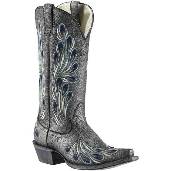 Ariat Women's Mirabelle Western Boots #Ariat #Boot #Peacock Boots ...