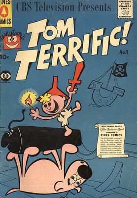Gene Deitch...Tom Terrific and Mighty Manfred