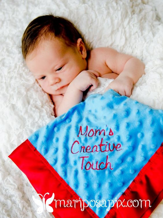Personalized Baby Blankets, The boys love them!