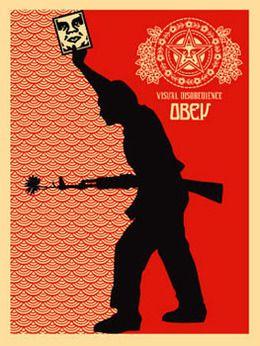Shepard Fairey, 'Visual disobedience,' 2006, MUCA