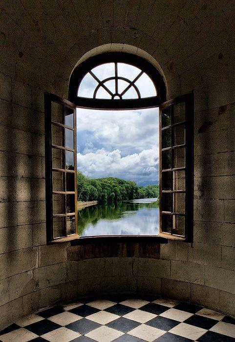Castle View, Burgundy, France