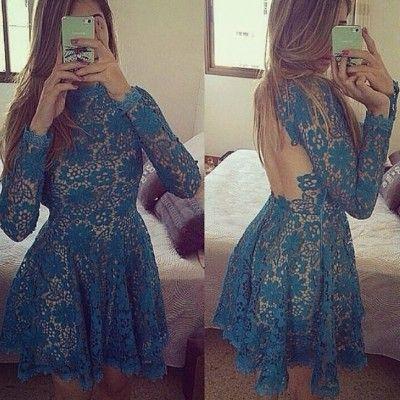 Vestido Rendas Haly