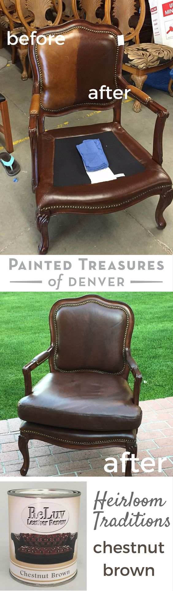 How to paint leather furniture for How to paint leather furniture
