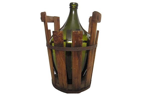 "French Demijohn and Cask  -  FLORIDA FOUND  -  12""W x 16""H  -  OneKingsLane.com  -  ($395.00)  $265.00"