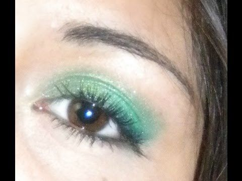"Make-up Tutorial ""Green paradise"" - YouTube"