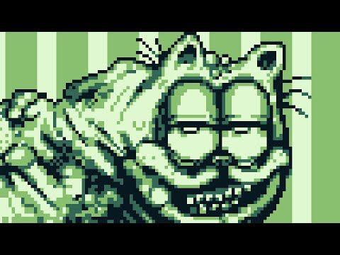 Garfield Gameboy D Part 1 5 Youtube Horror Crafts Garfield Creepy Art
