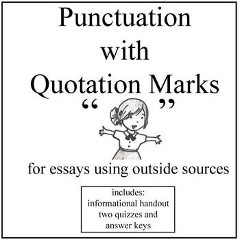 quotations in essays punctuation If you are quoting up vote 31 down vote when quoting in an essay where is the punctuation favorite  here at oxbridge essays using quotations in essays.