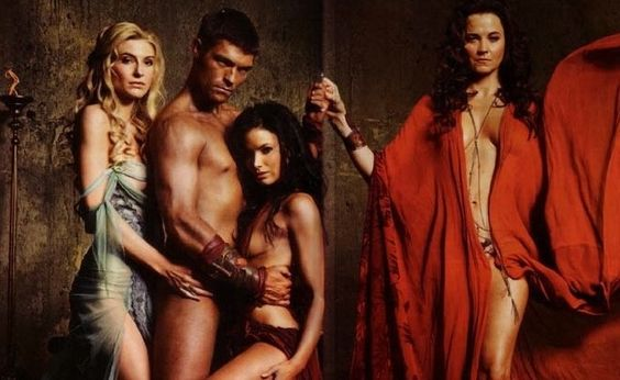 top 5 spartacus scenes - high fidelity notes