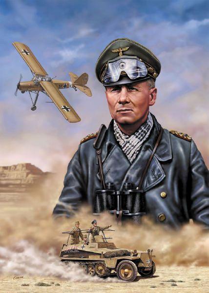 Risultati immagini per Erwin Rommel,