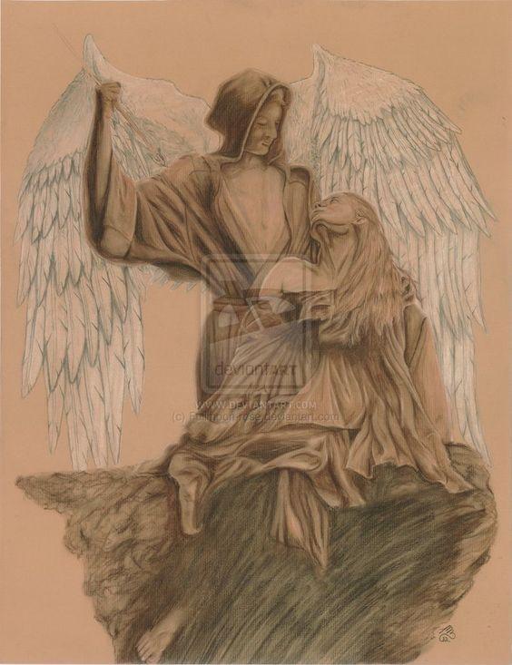 Ecstasy of St. Teresa by Fullmoon-rose on DeviantArt