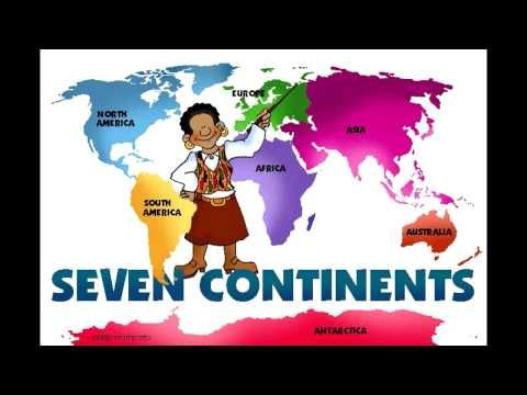 Continents song- some of my 2nd graders were singing a version of this for me the other day.