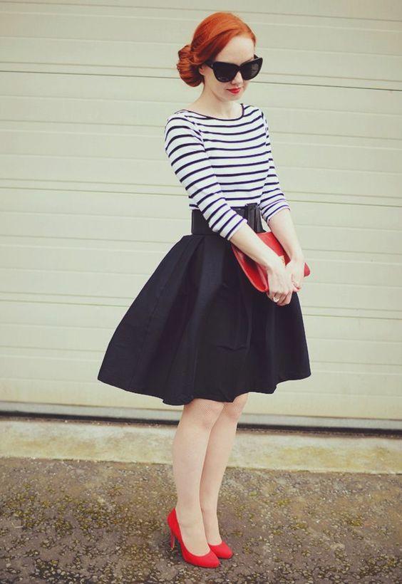 Le vintage à la mode tenue jolie pour danser swing