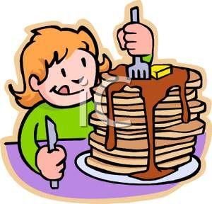 Kids Breakfast Clipart