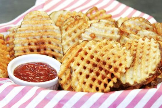 how to make waffle fries homemade recipes recipes