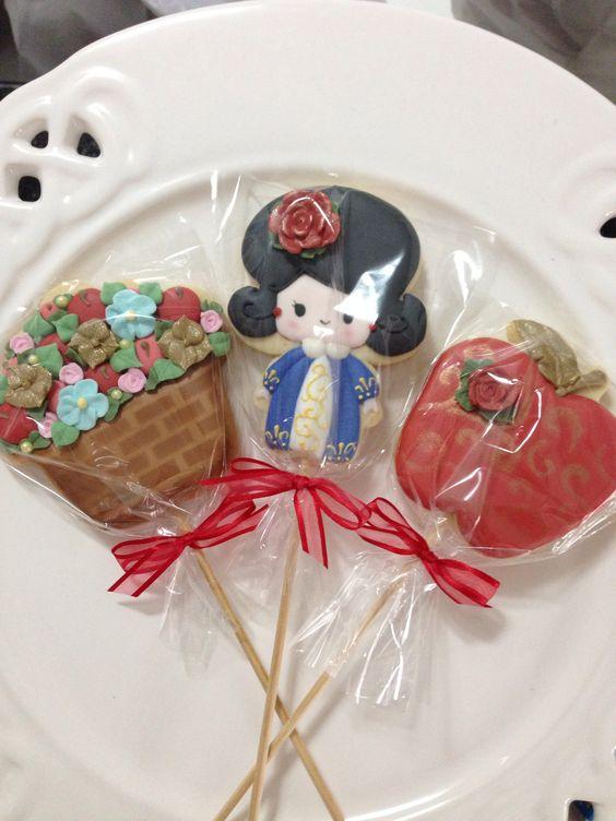 Cookies Branca de Neve!