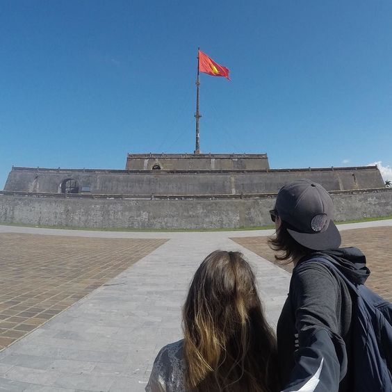 Admiring the awesome yet ominous citadel in Hue  #hue #citadel #GoPro . . . . . #goprohero4 #couple #backpacker #backpackerlife #travelgoals #relationshipgoals #selfie #goprooftheday #photooftheday #wanderlust #travel #travellingtogether #travellingcouple #globetrotter #vietnam #getbackpacking #hero_adventure #goprowill #nofilter #herobyhero #goprodaily #goprostyles #GoWorldWide #gproworldwide #GoPro_Epic #weliketotravel #kings_gopro . @aervideo @backpacker_pics @the_gopro_lifestyle…