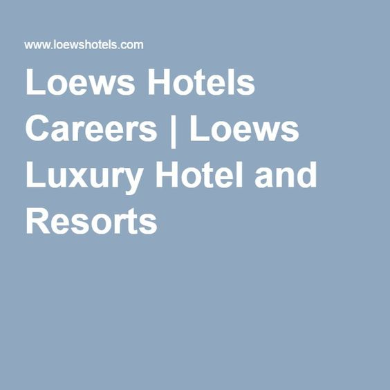 Http Intimate Tunes Index Html Loews Hotels Careers Luxury Hotel And Resorts J S Philadelphia Eatery Guide The Foo Edition