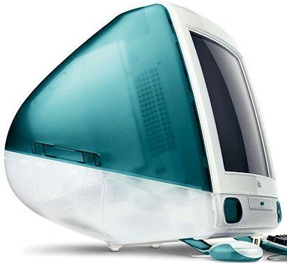 Original iMac. Yo tuve una de estas chuladas !