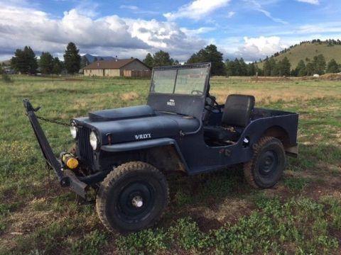 1946 Jeep Willys Cj2a In 2020 Willys Jeep Willys Jeep Wrangler Rubicon