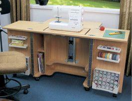Mueble para maquina de coser costura pinterest for Mueble organizador de costura