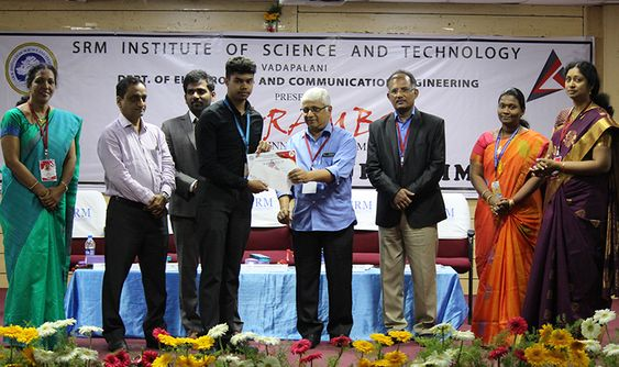 SRM Institute of Science and Technology Vadapalani Campus Organised Aarambh 2019