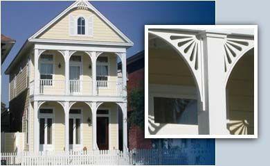 Durabrac decorative victorian gingerbread trim your for Architectural gingerbread trim