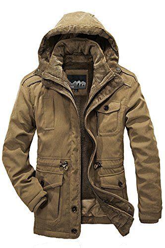 Winter Jacket Men Casual, Mens Winter Coats Fur Lined
