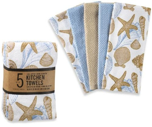 Casanova 14 Piece Kitchen Towel And Dish Cloth Set In Taupe