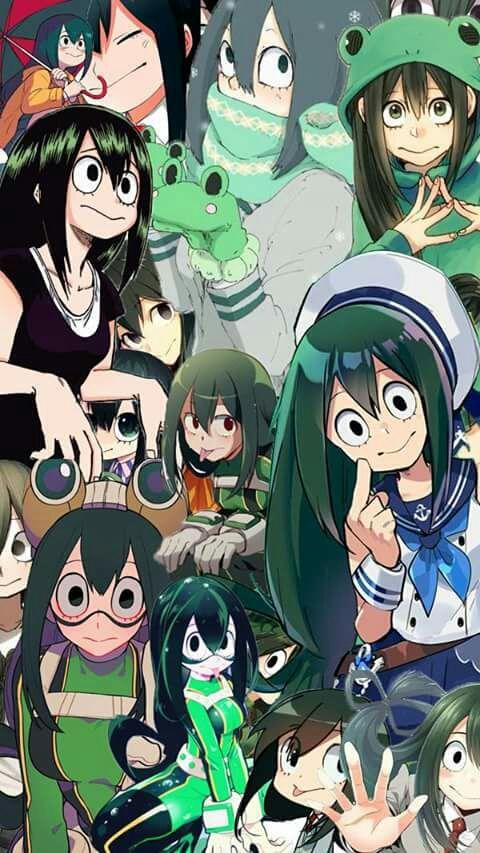Imagenes Pro De Bnha Bv Fondo De Anime Tsuyu Asui Y Arte