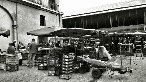Mercado La Boqueria, Barcelona, España