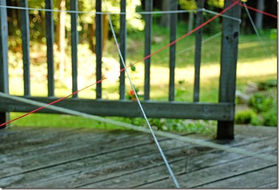 String Maze with free printable summer coupons for kids
