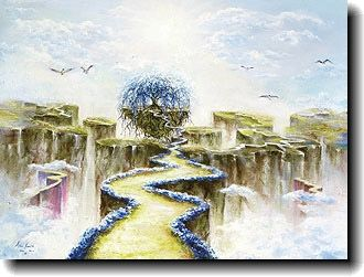 100's of Akiane Kramarik paintings! Explore her visions of Angels, Creation, Nature and portraits including Prince of Peace the Heaven is for Real face of Jesus