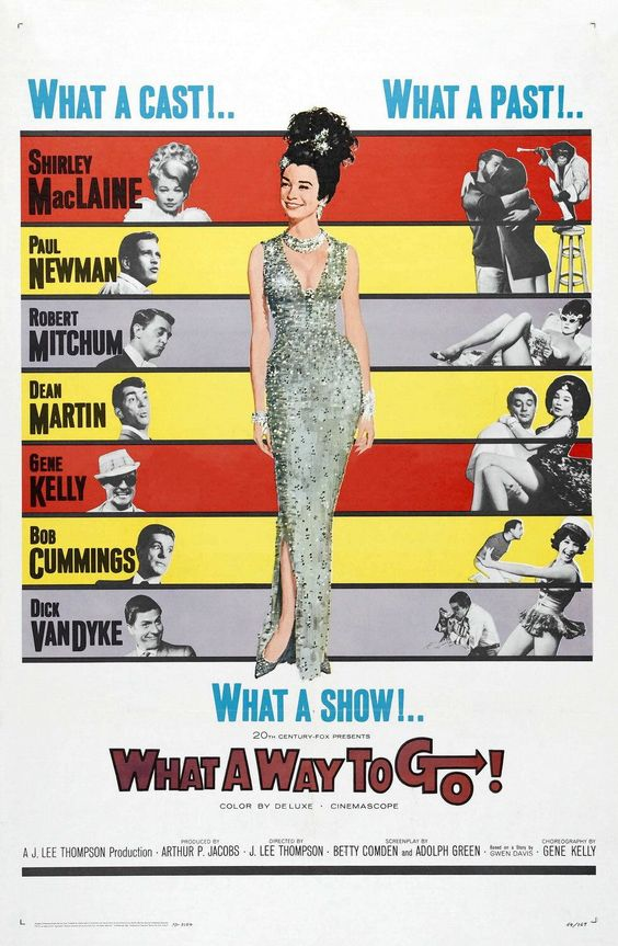 What A Way To Go ! (1964) - Dean Martin DVD