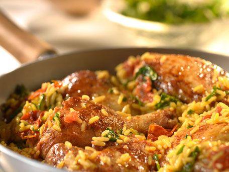 Jollof Chicken & Rice.