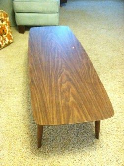 goodwill coffee table, 1950ish | home sweet parsonage | pinterest