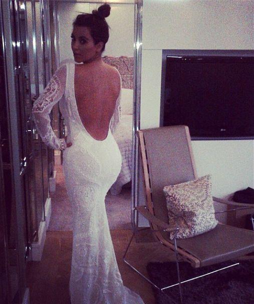 Kim Kardashian Fuels Wedding Talk Via Twitter