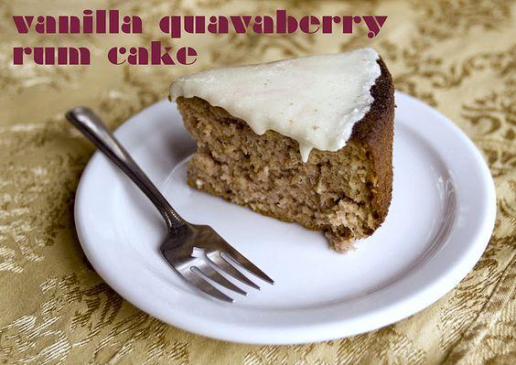 Guavaberry rum cake recipe