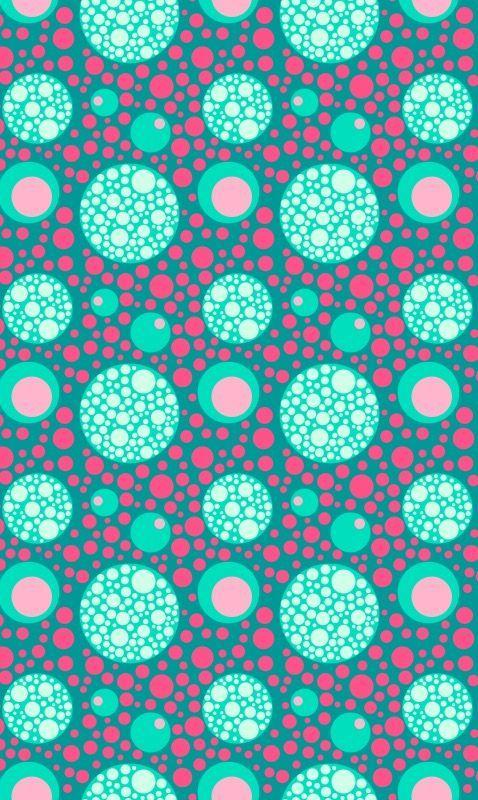 Polka Dots Wallpaper Image By Leanne Jenkins