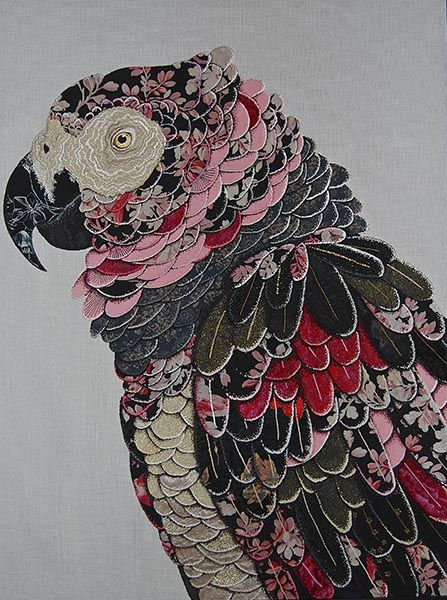 BRAINALIZE: Textile birds by Zara Merrick.:
