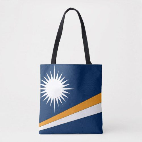 Marshall Islands Flag Tote Bag Marshall Islands Flag Tote Bag Tote