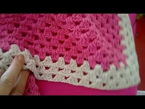 Capa De Almofada Facil De Fazer Em Croche Passo A Passo Para
