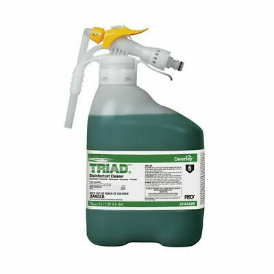 Sponsored Ebay Diversey 3143429 Rtd Triad Iii Disinfectant