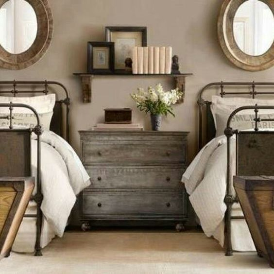 Guest Bed, Over The And Rustic French On Pinterest