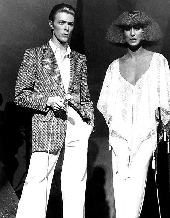 Classic Collection I Cher And David Bowie Lumas In 2021 David Bowie Art David Bowie Artwork Bowie