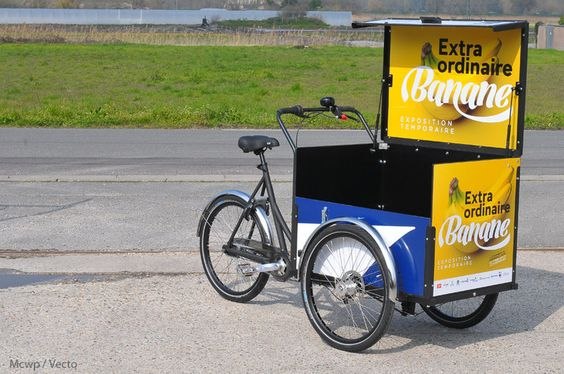 Le Livreur Christiania bikes - Triporteurs, cargobike, biporteurs Christiania Bikes by Vecto